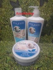 Toko Perawatan Faylacis Goat Milk Lulur Lotion Sabun Cair Yang Bisa Kredit