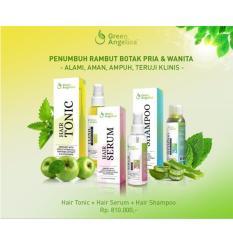 Dapatkan Segera Perawatan Penumbuh Rambut Cepat Tumbuh Produk Rambut Herbal Perawatan Lengkap Green Angelica Solusi Kebotakan