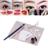 Permanen Alis Jarum Mikro Pen Ink Cangkir Praktis Kulit Set Tattoo Makeup Tool Intl Oem Diskon 30