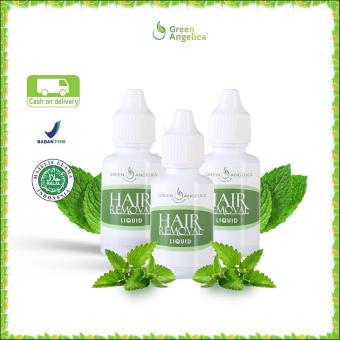 Katalog Perontok Bulu Sampai Ke Akar Green Angelica Paket 3Btl Hair Removal Penghilang Bulu Permanen Secara Alami 100 Original Product Dan Halal Green Angelica Terbaru