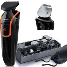 Toko Philips Qg3340 Water Proof Rechargeable Multigroom Grooming Kit Hitam Terlengkap Di Indonesia