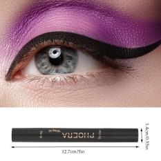 PHOERA Double Head Liquid Eyeliner Pen Stamp Triangle Seal Black Pencil Makeup Cosmetics Tool Waterproof -