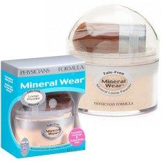 Diskon Produk Physicians Formula Mineral Wear Talc Free Mineral Loose Powder Spf 16 Buff Beige