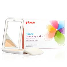 Harga Pigeon Two Way Cake Warm Beige 14G Asli