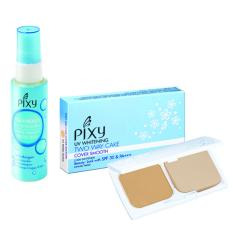 Harga Pixy Aqua Beauty Protecting Mist 60 Ml Twc Cover Smooth White Ochre 12 2 Gr Di Dki Jakarta