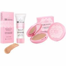 Ulasan Lengkap Pixy Bb Cream Bright Beige 30 Ml Compact Pure Finish Cream 11 Gr