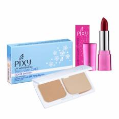 Harga Pixy Lasting Matte Lipstick 106 Wine Fusion 3 8 Gr Twc Cover Smooth Natural Peach 12 2 Gr Yang Murah Dan Bagus