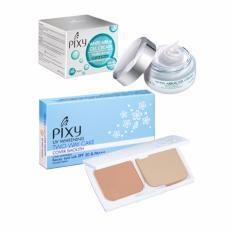 Promo Pixy White Aqua Gel Cream Night Cream 18 Gr Twc Cover Smooth Pink Cream 12 2 Gr Dki Jakarta