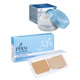 Beli Pixy White Aqua Gel Cream Night Cream 18 Gr Twc Cover Smooth White Ochre 12 2 Gr Online Terpercaya