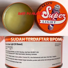 Harga Pomade Murray S Murrays Superlight Light Oilbased Oil Based 3 Oz Original Usa Sudah Bpom Yg Bagus