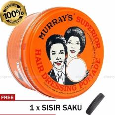 Iklan Pomade Murray S Superior 3 Oz Heavy Oilbased Hair Dressing Pomade Oil Based Paling Keras Strong Orange 85Gram