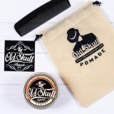 Review Pomade Oldskull Old Skull Coffeelatte Strong Hold Aroma Kopi