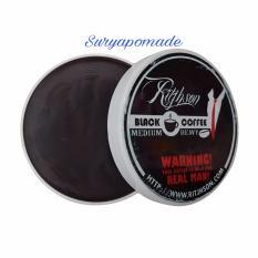 Beli Pomade Ritjhson Black Coffee Kopi Strong Hold Oilbase 3 5Oz Free Sisir Terbaru