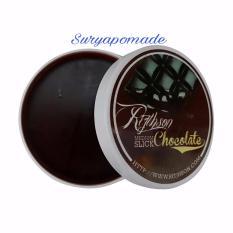 Jual Pomade Ritjhson Chocolate Medium Slick Oilbased Pomade 3 5Oz Free Sisir Online Di Dki Jakarta