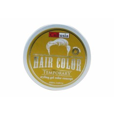 Pomade Warna Cultusia Color Coloring Colouring Wax Clay Pewarna Tidak Permanen Murrays Suavecito - Light Gold / Emas - (Lazada Elektron)