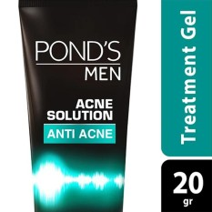 Ponds Men Acne Solution Gel Pelembab 20g By Lazada Retail Ponds