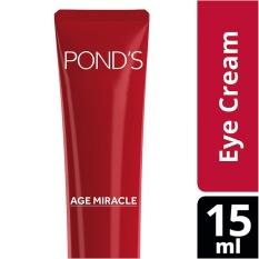 Spesifikasi Pond S Age Miracle Eye Cream 15Ml