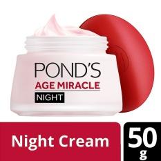 Harga Pond S Age Miracle Night Cream 50G Jawa Barat