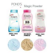 Ponds Angel Face Magic Face Powder 100% Original Thailand - Bedak BB Ponds Pink - Bedak Pinkish White Glow - 50gr