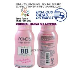 Ponds BB Magic Powder 50gr Free Ikat Rambut Lucu Lazpedia - Bedak Tabur Original Thailand - Lazpedia