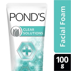 PONDS FACE SCRUB CLEAR SOLUTION 100G