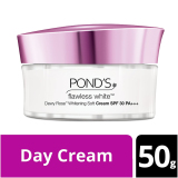 Review Pond S Flawless White Dewy Rose Cream Spf 30 50G