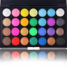Popfeel Merek 28 Warna Matte Eyeshadow Rood Make Up Palet Glitter Eye Shadow Natural Palet Make Up untuk Wajah Pallet Kecantikan 02 Warna-Intl