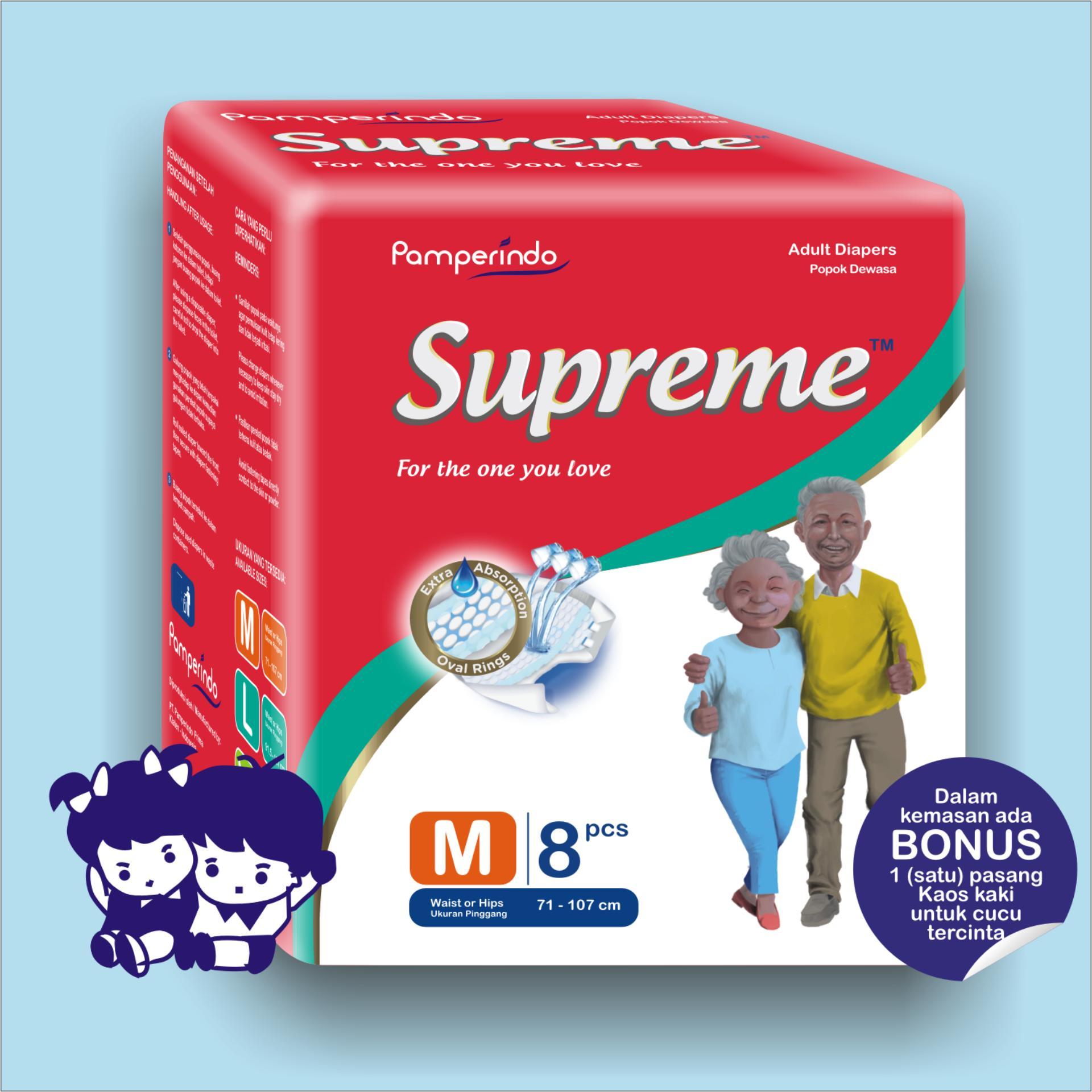 Jual dr p adult murah garansi dan berkualitas ID Store Source · Harga preferensial Popok Dewasa SUPREME size M isi 8 pcs beli sekarang Hanya Rp38