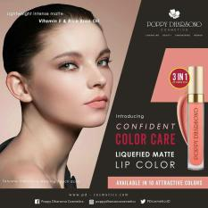 Toko Poppy Dharsono Liquefied Matte Lip Color 02 Poppy Queen Murah Di Indonesia