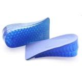 Harga Populer Baru Comfy Unisex Silicone Lift Tinggi Meningkatkan Sepatu Sol Heel Lebih Tinggi Pad Intl Lengkap