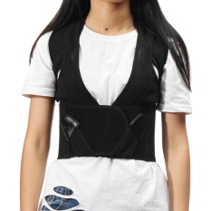 Diskon Produk Posture Corrector Back Support Belt Shoulder Brace Nyeri Punggung Mengobati Adjustable L Intl