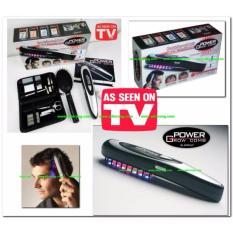 Power Grow Comb Sisir Terapi Laser Bonus Pedicure Manicure Set Perawatan Kuku Sisir Pijat dan Brush