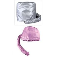 Praktis Rumah Salon Barber Hair Dryer Bonnet Hood Attachment Hairdressing Hat Cap Warna Acak-Intl
