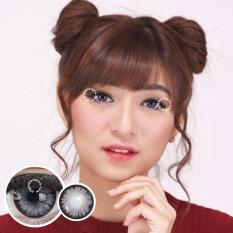 Pretty Doll Little Chimmer Grey Softlens - Minus 4.50 + Gratis Lenscase