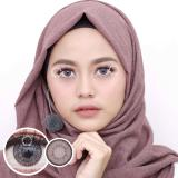 Review Toko Pretty Doll Little Nudy Grey Softlens Minus 00 Normal Gratis Lenscase