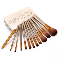 Pro Brush NAKED 3 / NAKED3 Kuas Isi 12 Pcs / Make Up Brush