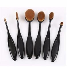 Diskon Produk Profesional 6 Pcs Kurva Oval Sikat Gigi Foundation Make Up Brushes Kosmetik Kecantikan Alat