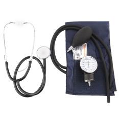 Promo Ukuran Monitor Tekanan Darah Profesional Kit Stetoskop Bepergian With Kantong Akhir Tahun