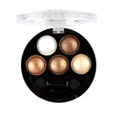 Rias Mata Profesional Eyeshadow Pigmen Pemulas Mata Palet 03-Internasional