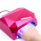 Harga Professional Mini 36W Pink Manicure Led Uv Phototherapy Nail Gel Lamp Eu Intl Termahal