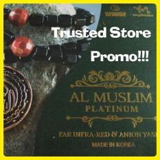 Promo Al Muslim Platinum Tasbih Terapi Blackjade Black Jade Murah Di Dki Jakarta