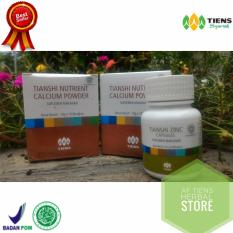 Promo Best Seller Tiens Paket Hemat 30 Hari Nutrient Hight Calcium Powder Zinc By Af Tiens Herbal Store Di Indonesia