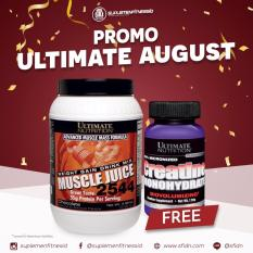 Toko Promo Bundling Ultimate Nutrition Muscle Juice 4 96Lbs Free Creatine 120Gr Online Di Indonesia