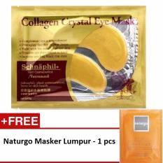 Promo Collagen Crystal Eye Mask / Masker Mata - 1 Pcs + Gratis Naturgo Masker Lumpur - 1 pcs