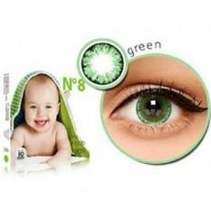 PROMO GAJIAN Softlens X2 Ice N8 Green / Hijau NORMAL