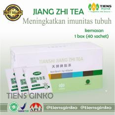 Review Terbaik Promo Jiang Zhi Tea 100 Original Teh Pelangsing Teh Herbal Membakar Lemak By Tiens Ginko