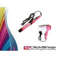 Promo Paket Styling Rambut Nova Catokan 2 in 1 Dan Nova Hair Dryer