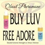Review Promo Qboot Pheromone Beli Luv Oil Free Adore Oil