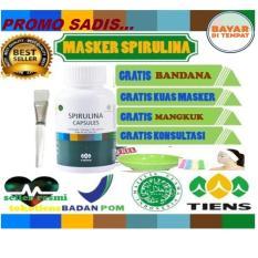Review Toko Promo Sadis Tiens Masker Spirulina Herbal Pemutih Wajah Paket 20 Kapsul Online