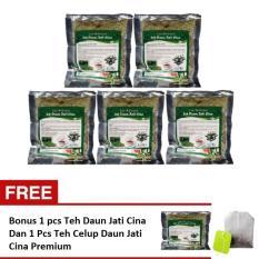 Promo Teh Daun Jati Cina Teh Peluntur Lemak Original - 5pcs + 1pcs Free Plus Sampel 1 Pcs Teh Celup